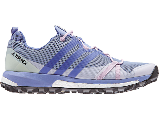 adidas TERREX Agravic Løbesko Damer violet/blå | Mountainbikes